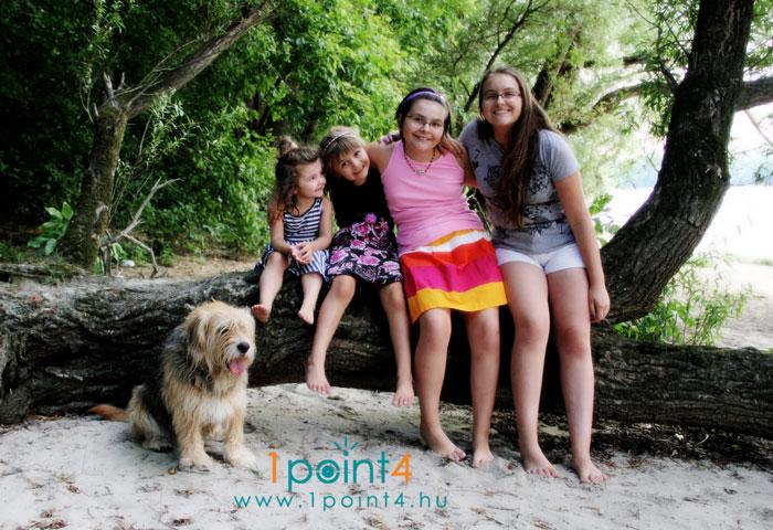 Szabadtéri családi fotózás