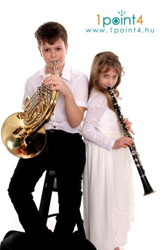 zenés gyermekfotózás