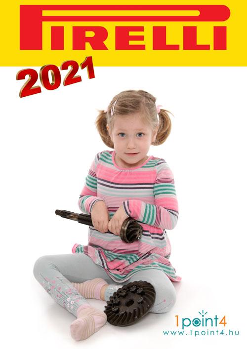 Pirelli naptár 2021