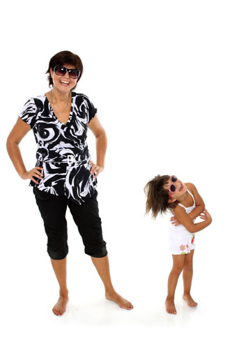 Baba - Mama fotózás