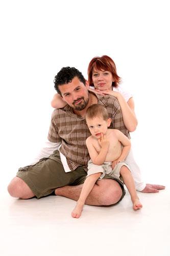 családi fénykép