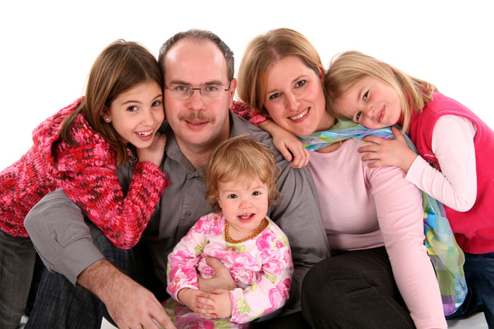 családi fotó
