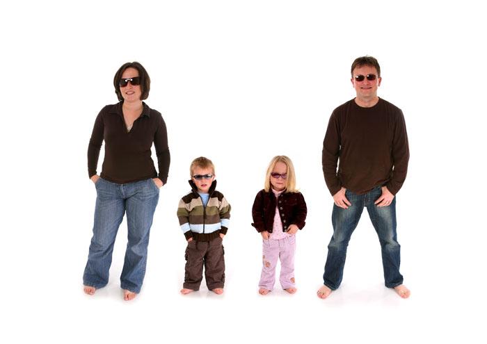 család fotózás