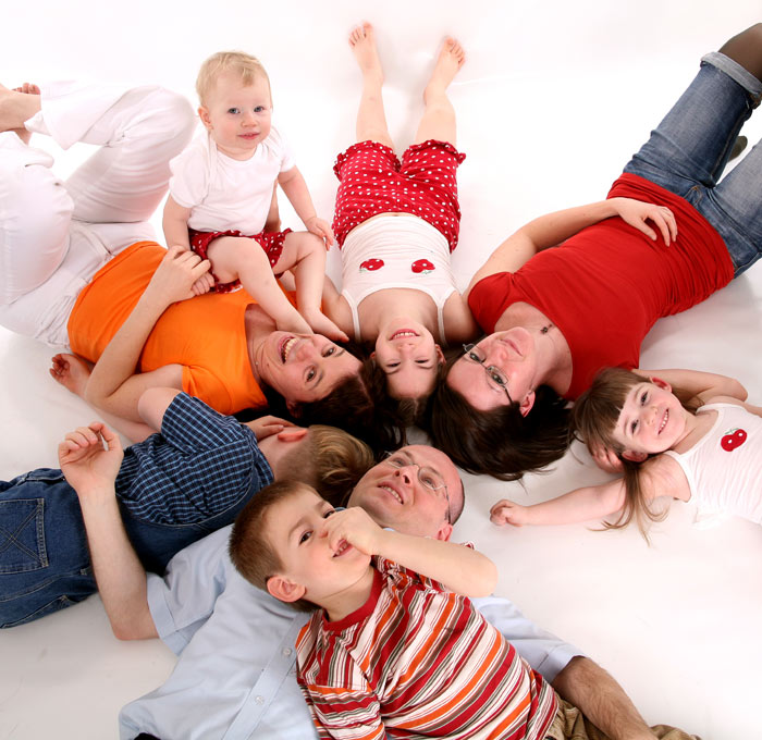 családi fotózás