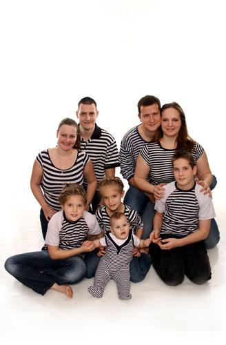 családifotózás