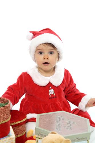 Karácsonyi Gyermek fotózás