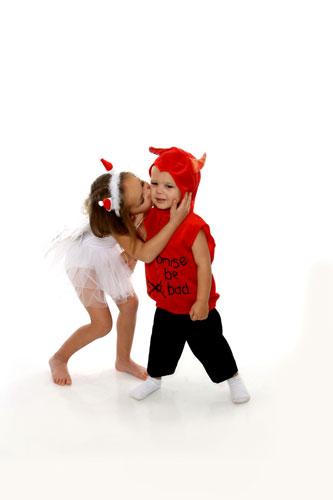 Karácsonyi gyermekfotózás